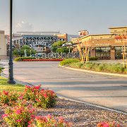 Legends Shopping Center at Village West, Kansas City, Kansas. Panorama photos taken on assignment for Performance Automotive.