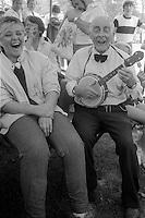 Miners Gala Wakefield. 16/06/1984.