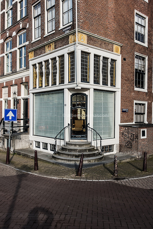 Amsterdam, entrance of a private house