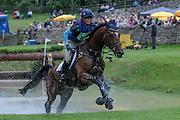 FIGARO VAN HET BROEKXHOF ridden by Jodie Amos at Bramham International Horse Trials 2016 at  at Bramham Park, Bramham, United Kingdom on 11 June 2016. Photo by Mark P Doherty.