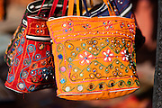 Handbags with embroidery (India)