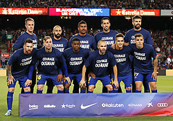 September 19, 2017 - Barcelona, Spain - FC Barcelona team before the La Liga match between FC Barcelona v SC Eibar , in Barcelona, on September 19, 2017. (Credit Image: © Joan Valls/NurPhoto via ZUMA Press)