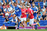 Ipswich Town midfielder Grant Ward during the EFL Sky Bet Championship match between Ipswich Town and Barnsley at Portman Road, Ipswich, England on 6 August 2016. Photo by Nigel Cole.
