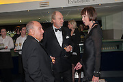 HARVEY GOLDSMITH; ED VICTOR; CAROL RYAN, 2012 GQ Men of the Year Awards,  Royal Opera House. Covent Garden, London.  3 September 2012