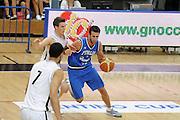 DESCRIZIONE : Trento Torneo Internazionale Maschile Trentino Cup Italia Nuova Zelanda  Italy New Zeland<br /> GIOCATORE : Luigi Datome<br /> SQUADRA : Italia Italy<br /> EVENTO : Raduno Collegiale Nazionale Maschile <br /> GARA : Italia Nuova Zelanda Italy New Zeland<br /> DATA : 26/07/2009 <br /> CATEGORIA : palleggio<br /> SPORT : Pallacanestro <br /> AUTORE : Agenzia Ciamillo-Castoria/G.Ciamillo