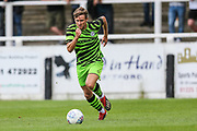 Forest Green Rovers Dayle Grubb(8) runs forward during the Pre-Season Friendly match between Bath City and Forest Green Rovers at Twerton Park, Bath, United Kingdom on 27 July 2019.