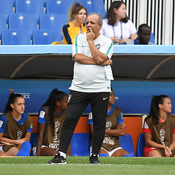 Vadao head coach of Brazil during the Women's World Cup match between Australia and Brazil at Stade de la Mosson on June 13, 2019 in Montpellier, France. (Photo by Alexandre Dimou/Icon Sport)