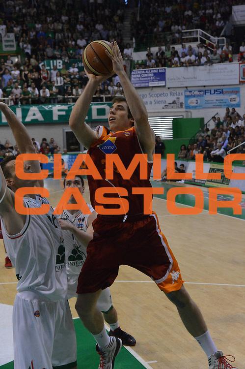 DESCRIZIONE : Siena Lega A 2012-2013 Montepaschi Siena Acea Roma playoff finale gara 3<br /> GIOCATORE : Aleksander Czyz<br /> CATEGORIA : Tiro<br /> SQUADRA : Three Points<br /> EVENTO : Campionato Lega A 2012-2013 playoff finale gara 3<br /> GARA : Montepaschi Siena Acea Roma<br /> DATA : 15/06/2013<br /> SPORT : Pallacanestro <br /> AUTORE : Agenzia Ciamillo-Castoria/GiulioCiamillo<br /> Galleria : Lega Basket A 2012-2013  <br /> Fotonotizia : Siena Lega A 2012-2013 Montepaschi Siena Acea Roma playoff finale gara 3