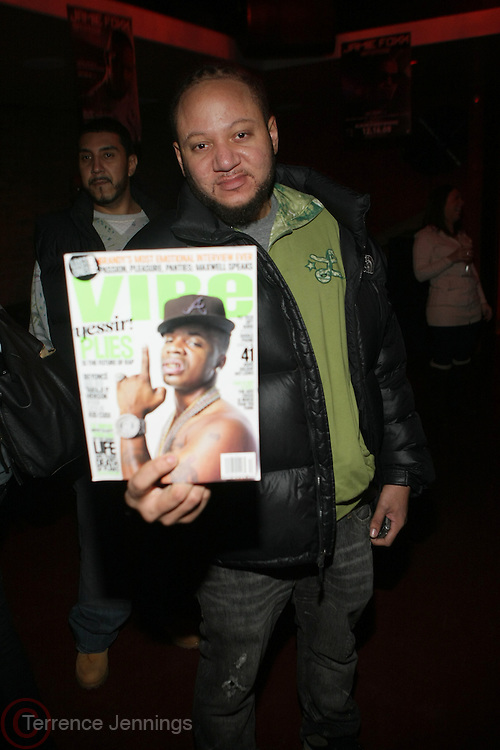 Buttaman at The Jamie Foxx's Album Release Party for Intuition, Sponsored by Vibe Magazine & Patron Tequila held at Home on December 17, 2008 in New York City..