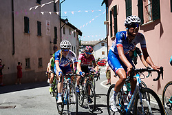 Rozanne Slik (NED) at Giro Rosa 2018 - Stage 2, a 120.4 km road race starting and finishing in Ovada, Italy on July 7, 2018. Photo by Sean Robinson/velofocus.com
