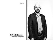 Roberto Saviano, giornalista e scrittore.