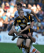 Wycombe, GREAT BRITAIN,  Josh LEWSEY, running with the ball,  during the Heineken Cup [Pool 1]  Rugby Match,  London Wasps vs Castres Olympique, played at Adams Park Stadium on Sun, 12.10.2008 [Photo, Peter Spurrier/Intersport-images]