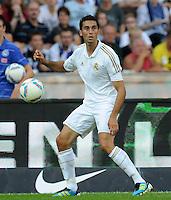 FUSSBALL   INTERNATIONAL   SAISON 2011/2012   TESTSPIEL Herha BSC Berlin - Real Madrid         27.07.2011      Alvaro ARBELOA (Real Madrid) Einzelaktion am Ball