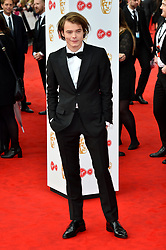 Charlie Heaton arriving for the Virgin TV British Academy Television Awards 2017 held at Festival Hall at Southbank Centre, London. PRESS ASSOCIATION Photo. Picture date: Sunday May 14, 2017. See PA story SHOWBIZ Bafta. Photo credit should read: Matt Crossick/PA Wire