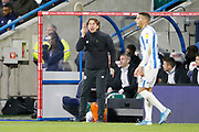 Thomas Frank Manager of Brentford during the EFL Sky Bet Championship match between Huddersfield Town and Brentford at the John Smiths Stadium, Huddersfield, England on 18 January 2020.