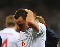 John Terry<br /> England World Cup 2010<br /> England V Algeria 18/06/10 Group C at Durban<br /> FIFA World Cup 2010<br /> Photo Robin Parker Fotosports International