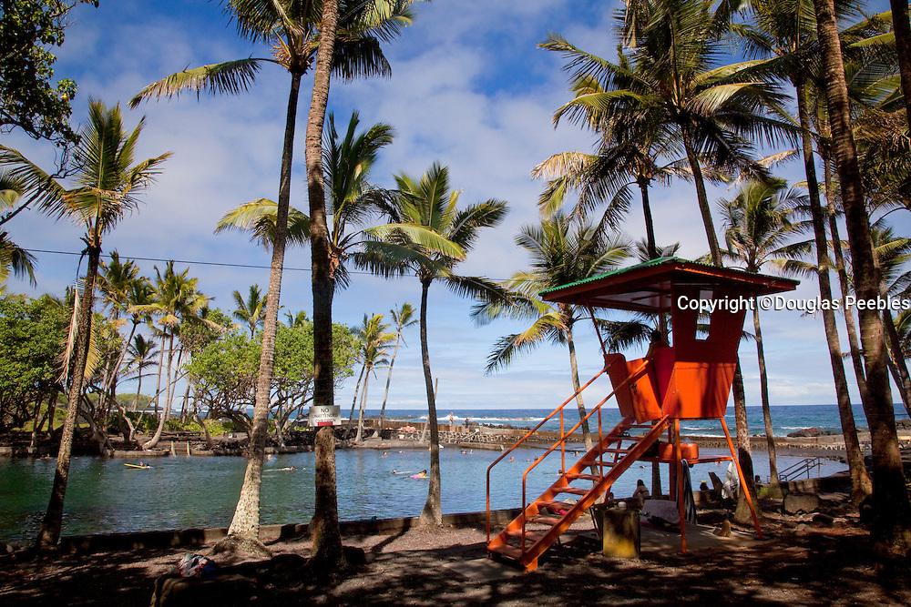 Ahalanui Park, warm springs, Puna, Island of Hawaii