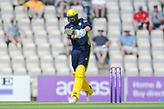 James Vince of Hampshire batting during the Royal London One Day Cup match between Hampshire County Cricket Club and Essex County Cricket Club at the Ageas Bowl, Southampton, United Kingdom on 23 May 2018. Picture by Dave Vokes.