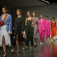 Eudon Choi Showcases at the London Fashion Week SS18