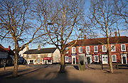 Village square, Wickham Market, Suffolk