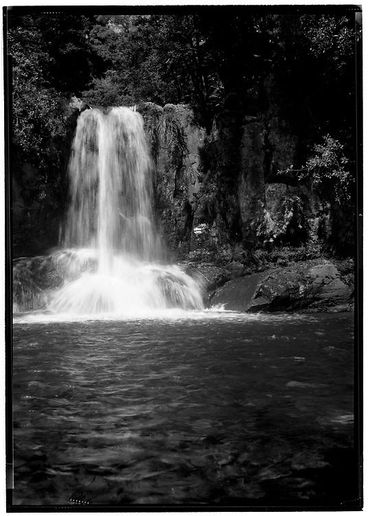 Wauai Falls along the 309 from Whitianga to Coromandel Town, New Zealand.