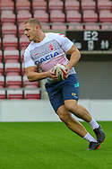 George Burgess during the RFL England Captain's Run at Leigh Sports Village, Leigh<br /> Picture by Steve McCormick/Focus Images Ltd 07545 862647<br /> 16/10/2018