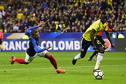 March 23, 2018 - St Denis, France, France - Kylian Mbappe  (Credit Image: © Panoramic via ZUMA Press)
