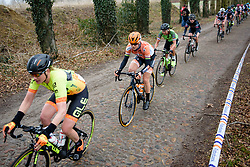 Amalie Dideriksen at Ronde van Drenthe 2018 - a 157.2 km road race on March 11, 2018, from Emmen to Hoogeveen, Netherlands. (Photo by Sean Robinson/Velofocus.com)