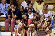 DESCRIZIONE : Trieste Nazionale Italia Uomini Torneo internazionale Italia Bosnia ed Erzegovina  Italy Bosnia and Herzegovina<br /> GIOCATORE : Nando Gentile Maria Vittoria Gentile<br /> CATEGORIA : Tifosi Vip<br /> SQUADRA : Italia Italy<br /> EVENTO : Torneo Internazionale Trieste<br /> GARA : Italia Bosnia ed Erzegovina  Italy Bosnia and Herzegovina<br /> DATA : 04/08/2014<br /> SPORT : Pallacanestro<br /> AUTORE : Agenzia Ciamillo-Castoria/GiulioCiamillo<br /> Galleria : FIP Nazionali 2014<br /> Fotonotizia : Trieste Nazionale Italia Uomini Torneo internazionale Italia Bosnia ed Erzegovina  Italy Bosnia and Herzegovina