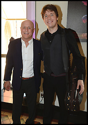 Ronald O.Perelman (left) with Joshua Bell, Grammy Award winning violinist  attend the National Youth Orchestra of The United States of America Reception at the <br /> The Royal Albert Hall hosted be Ronald O.Perelman, London, United Kingdom,<br /> Sunday, 21st July 2013<br /> Picture by Andrew Parsons / i-Images