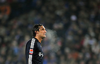 Fussball  1. Bundeslga  Saison 2008/2009   30.01.2009   Hamburger SV - Bayern Muenchen Luc TONI (Muenchen) enttaeuscht.