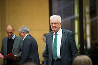 DEU, Deutschland, Germany, Berlin, 02.03.2018: Baden-Württembergs Ministerpräsident Ministerpräsident Winfried Kretschmann (Die Grünen) vor einer Sitzung im Bundesrat.