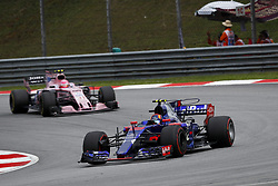 October 1, 2017 - Sepang, Malaysia - Motorsports: FIA Formula One World Championship 2017, Grand Prix of Malaysia, ..#55 Carlos Sainz Junior (ESP, Scuderia Toro Rosso) (Credit Image: © Hoch Zwei via ZUMA Wire)