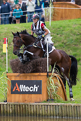 Jessica Phoenix, (CAN), Pavarotti - Eventing Cross Country test- Alltech FEI World Equestrian Games™ 2014 - Normandy, France.<br /> © Hippo Foto Team - Leanjo de Koster<br /> 30/08/14