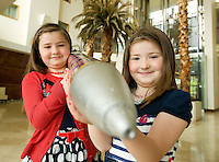 "Almost 450 six to nine year old Bio Medical Engineers will take part in Ireland's first ever Junior FIRST Lego League final tonight in The Radisson Blu Hotel in Galway!  The senior level of the competition has been running for four years now in this country and has been hugely successful with Irish teams winning awards on a European and International level almost every year since they first got involved in 2007.. .Junior FIRST Lego League offers younger children the opportunity to learn in teams how to problem solve and how to apply real world maths and science to this learning. Teams of students partake in a non-competitive atmosphere that promotes the philosophy of FIRST; ""Igniting young minds, Teaching life skills, Nurturing passions for science and technology and Practicing ""Gracious Professionalism(TM).""..Ready for the event is George Ukwuoma (6) from Scoil Chaitríona, Renmore, Galway..  Photo:Andrew Downes"