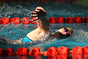 Chelsea Ouwehand, New Zealand Open Swimming Champs, Day 3, West Wave Aquatic center, Waitakere, Auckland. 16 April 2015. Copyright Photo: William Booth / www.photosport.co.nz