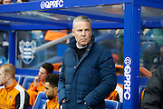 Wolverhampton Wanderers head coach Kenny Jackett befor the Sky Bet Championship match between Queens Park Rangers and Wolverhampton Wanderers at the Loftus Road Stadium, London, England on 23 January 2016. Photo by Andy Walter.