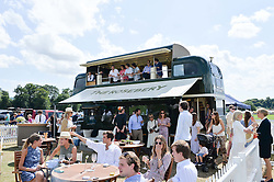 Atmosphere at the Jaeger-LeCoultre Gold Cup Polo Final held at Cowdray Park Polo Club, Midhurst, West Sussex on 19th July 2015