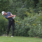 Will MacKenzie in action during the first round of theThe Barclays Golf Tournament at The Ridgewood Country Club, Paramus, New Jersey, USA. 21st August 2014. Photo Tim Clayton
