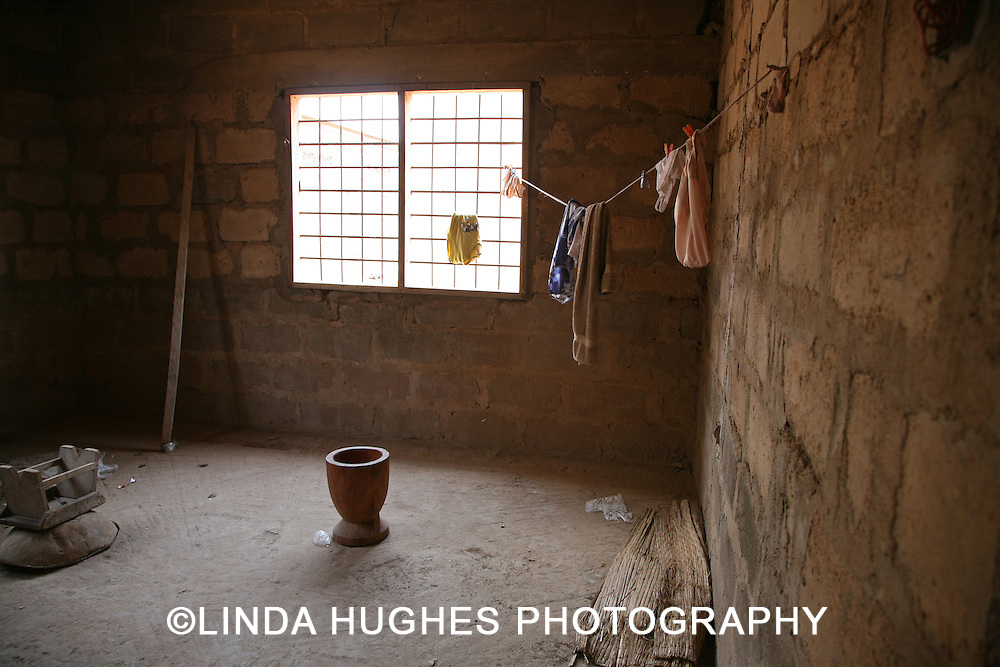Room in a Remote Village Home in Accra Ghana
