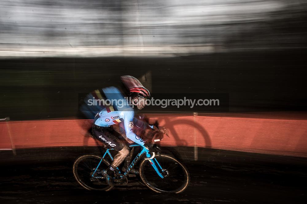 UCI Cyclo-cross World Championships in Valkenburg 2018. Laurens Sweeck. Photo by Simon Gill.