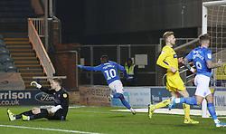 Siriki Dembele of Peterborough United celebrates scoring his sides second goal of the game - Mandatory by-line: Joe Dent/JMP - 21/01/2020 - FOOTBALL - Weston Homes Stadium - Peterborough, England - Peterborough United v Wycombe Wanderers - Sky Bet League One