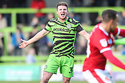 Forest Green Rovers Chris Stokes(30) during the EFL Sky Bet League 2 match between Forest Green Rovers and Walsall at the New Lawn, Forest Green, United Kingdom on 8 February 2020.
