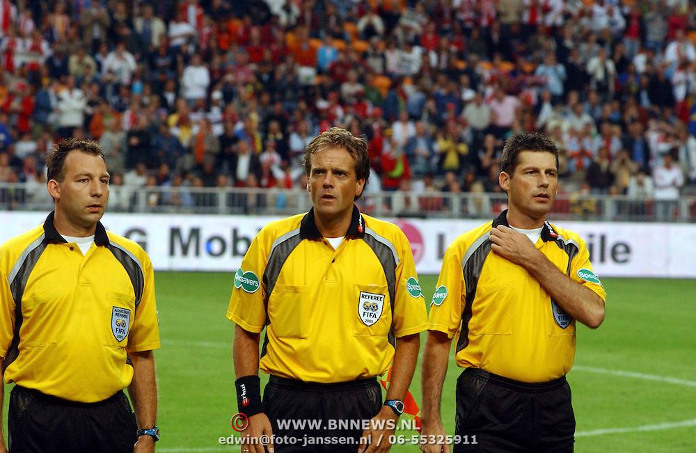 NLD/Amsterdam/20050731 - LG Amsterdam Tournament 2005, R. Hennisen, Peter Allaerts, D. Vanderhoven