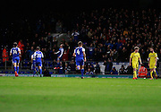 Freddie Sears (20) scores a second goal for Ipswich and celebrates to make the score 2-0 to Ipswich during the EFL Sky Bet Championship match between Ipswich Town and Burton Albion at Portman Road, Ipswich, England on 18 October 2016. Photo by Richard Holmes.