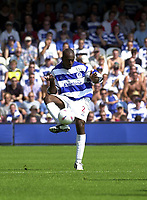 Photo: Greig Cowie.<br /> 09/08/2003.<br /> Nationwide 1st Division. QPR v Blackpool. Loftus Road.<br /> Terrell Forbes