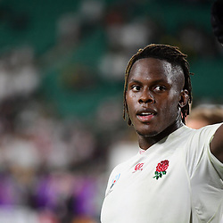 Maro ITOJE of England following the Rugby World Cup 2019 Quarter Final match between England and Australia on October 19, 2019 in Oita, Japan. (Photo by Dave Winter/Icon Sport) - Maro ITOJE - Oita Stadium - Oita (Japon)