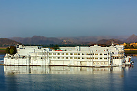 lake palace hotel in beautiful city of Udaipur in rajasthan state in india