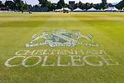 General view of the ground before Day 2 of the Specsavers County Champ Div 2 match between Gloucestershire County Cricket Club and Leicestershire County Cricket Club at the Cheltenham College Ground, Cheltenham, United Kingdom on 16 July 2019.