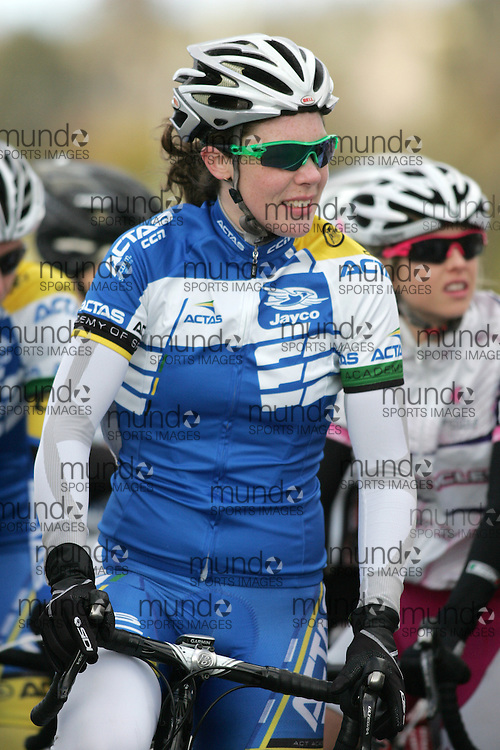 (10 Jul 2011---Canberra, Australia) \\ competing in the Sunday morning road race in the DBR Australia 2011 Junior and Women's Canberra Tour at the Stromlo Forest Park circuit in Canberra, ACT. Copyright Sean Burges / Mundo Sport Images, 2011